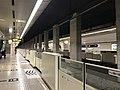 Platform of Fujisaki Station (Fukuoka Municipal Subway) 2.jpg