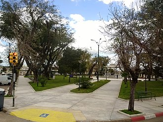Minas, Uruguay - Image: Plaza Rivera, Minas