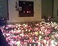 Podloubí 18. 12. 2011 krátce před půlnocí, den úmrtí Václava Havla.jpg