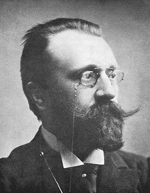 Charles Polydore de Mont - Pol de Mont in 1896