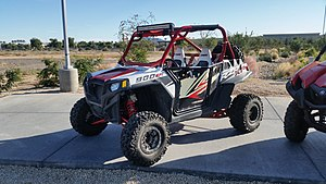 Polaris RZR - Polaris RZR XP 900 with aftermarket accessories