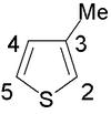 3-methylthiophene