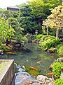 Pond of Kanahebi-Suijinja shrine.JPG