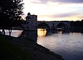Pont St-Bénezet au soir estI.JPG
