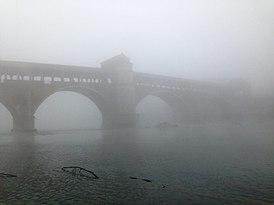 Ufficio Moderno Della Lombardia Pavia : Ponte coperto di pavia wikipedia