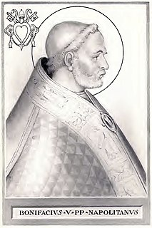 Pope Boniface V pope