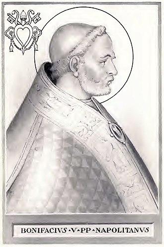 Pope Boniface V - Image: Pope Boniface V