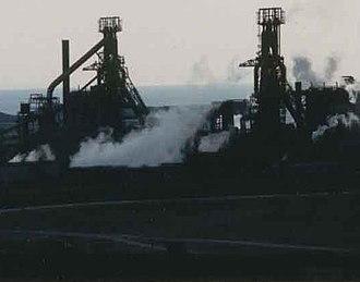 Port Talbot Steelworks - Ironworks at Port Talbot