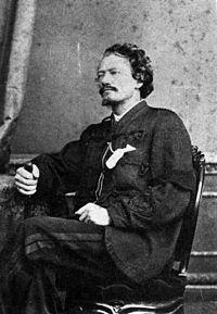 Portrait of Gustavus Ferdinand von Tempsky, ca 1868 by Webster, Hartley (Auckland) fl 1852-1900