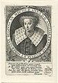 Portret van Anna van Denemarken, koningin van Engeland Regiae Anglicae (serietitel), RP-P-1911-622.jpg