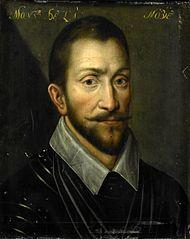 Portrait of François de la Noue (1531-91), Lord of Teligny, called 'Bras de Fer' and 'le Bayard Huguenot'