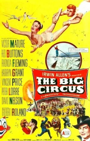 The Big Circus - Theatrical release poster