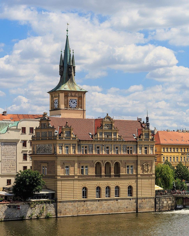 Prague 07-2016 Smetana Museum
