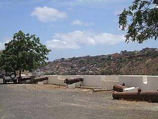 Achada Grande Frente Neighborhood in Praia, Santiago Island, Cape Verde