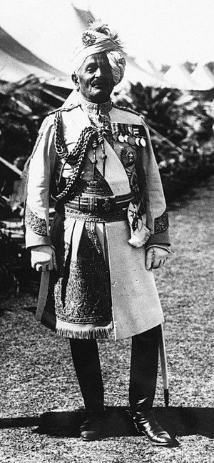 Pratap Singh of Idar - Pratap Singh in 1914