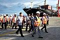 President Rodrigo R. Duterte arrives at the Davao International Container Terminal.jpg