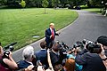 President Trump Departs for West Virginia (48373066612).jpg