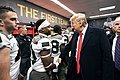 President Trump at the Army-Navy Football Game (49228080816).jpg