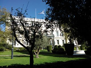 Presidential Mansion, Athens building in Athens, Attica Region, Greece