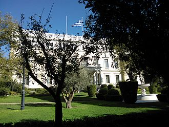President of Greece - The Presidential Mansion in Athens