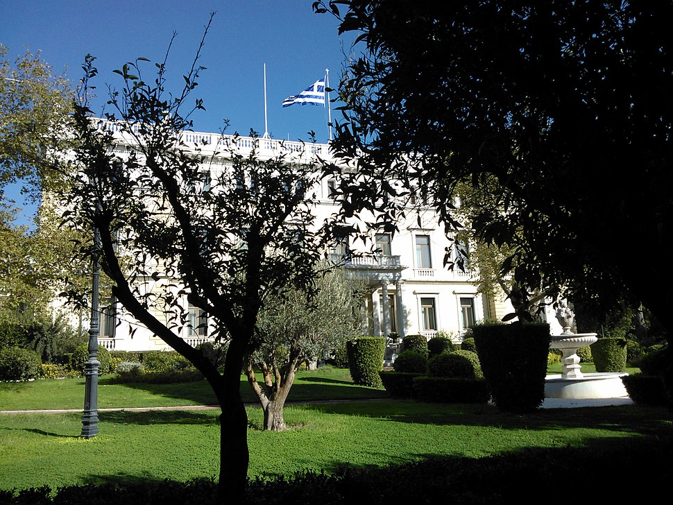 Presidential Mansion in Athens