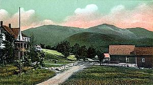 Jefferson, New Hampshire - Presidential Range c. 1905
