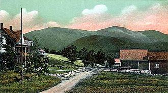 Jefferson, New Hampshire - Presidential Range c. 1905