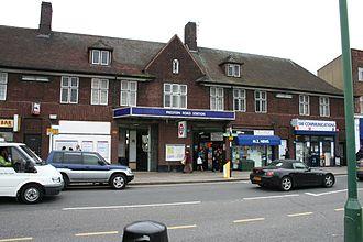 Preston Road tube station - Station entrance