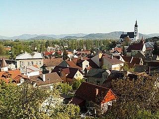 Příbor Town in Moravian-Silesian, Czech Republic