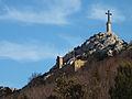 Prieuré de Sainte-Victoire et Croix de Provence.JPG