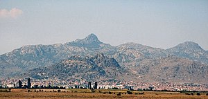 Prilep - View of Prilep and the surrounding mountains