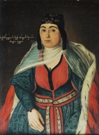Princess Tekle of Georgia - Image: Princess Thecla of Georgia (c. 1800)