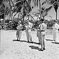 Prins Bernhard op bezoek bij de Arubaanse padvinders op Palm Beach, Bestanddeelnr 252-3899.jpg