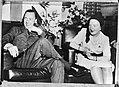 Prinses Juliana en prins Bernhard samen in de Nederlandse Club te New York. Prin, Bestanddeelnr 934-8275.jpg