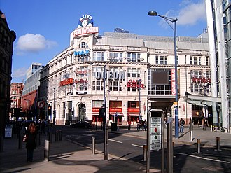 The Printworks - Façade of the Printworks, Manchester