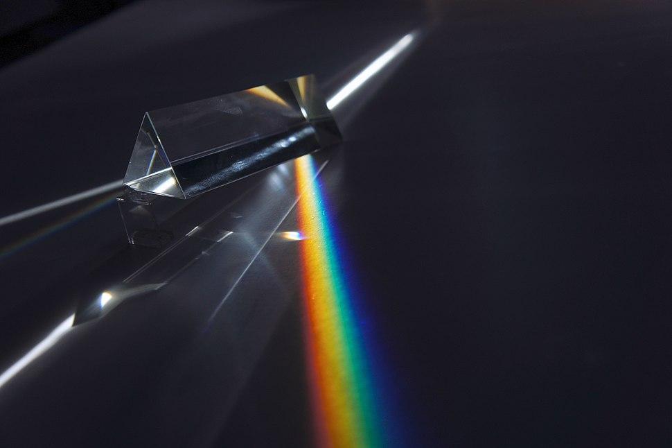 Prism flat rainbow