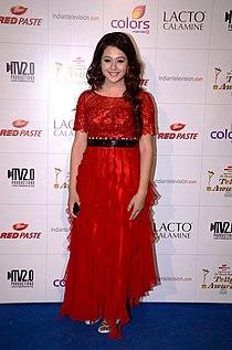 Priya gor colors indian telly awards.jpg