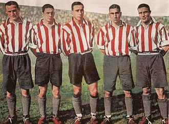 "Estudiantes de La Plata - Los Profesores (""The Teachers""): Miguel Angel Lauri, Alejandro Scopelli, Alberto Zozaya, Manuel Ferreira and Enrique Guaita"