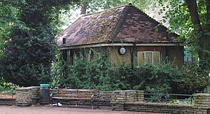 Cottaging - The appearance of public lavatories, like this one in Pond Square, Camden, London, is the origin of the term cottaging.