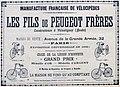 Publicité pour les cycles Peugeot en 1890.jpg