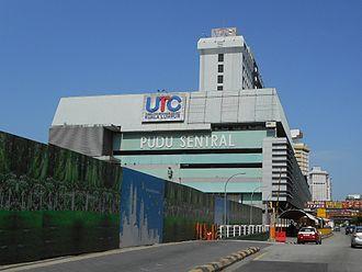Pudu Sentral - Image: Pudu Sentral Bus Terminal