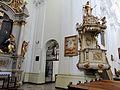 Pulpit of Saint Francis church in Warsaw - 01.jpg