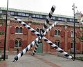 Pulserande koordinatsystem av Leif Bolter, skulptur i Malmö.jpg