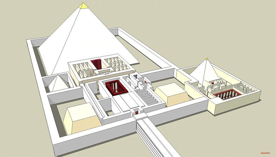 Pyramide Djedkare Isesi 3