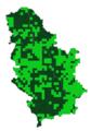 Pyrgus malvae mapa rasprostranjenja Srbija.png