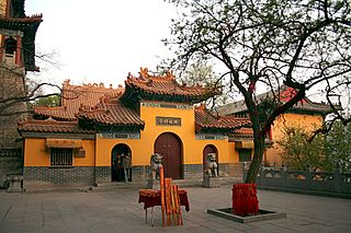 Xingguo Temple (Jinan) building in Zhangqiu District, China