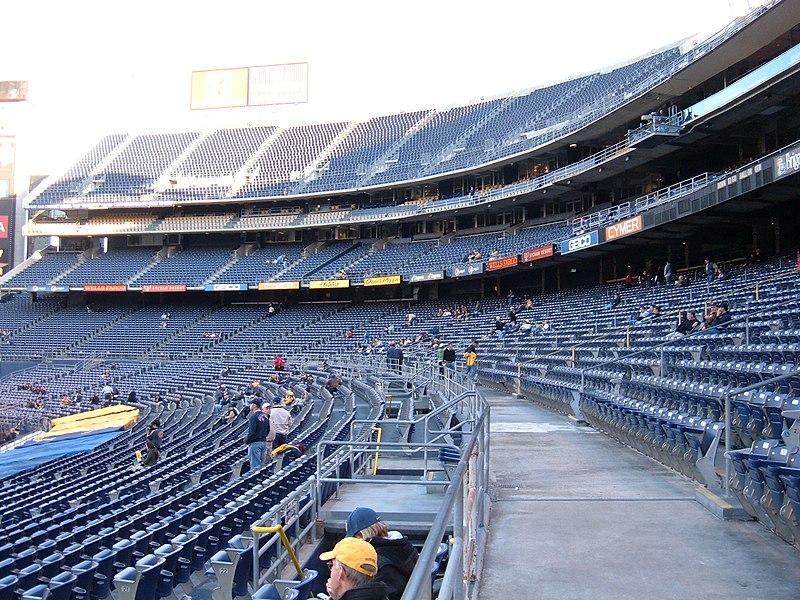 Qualcomm Stadium Used Car Tent Sale