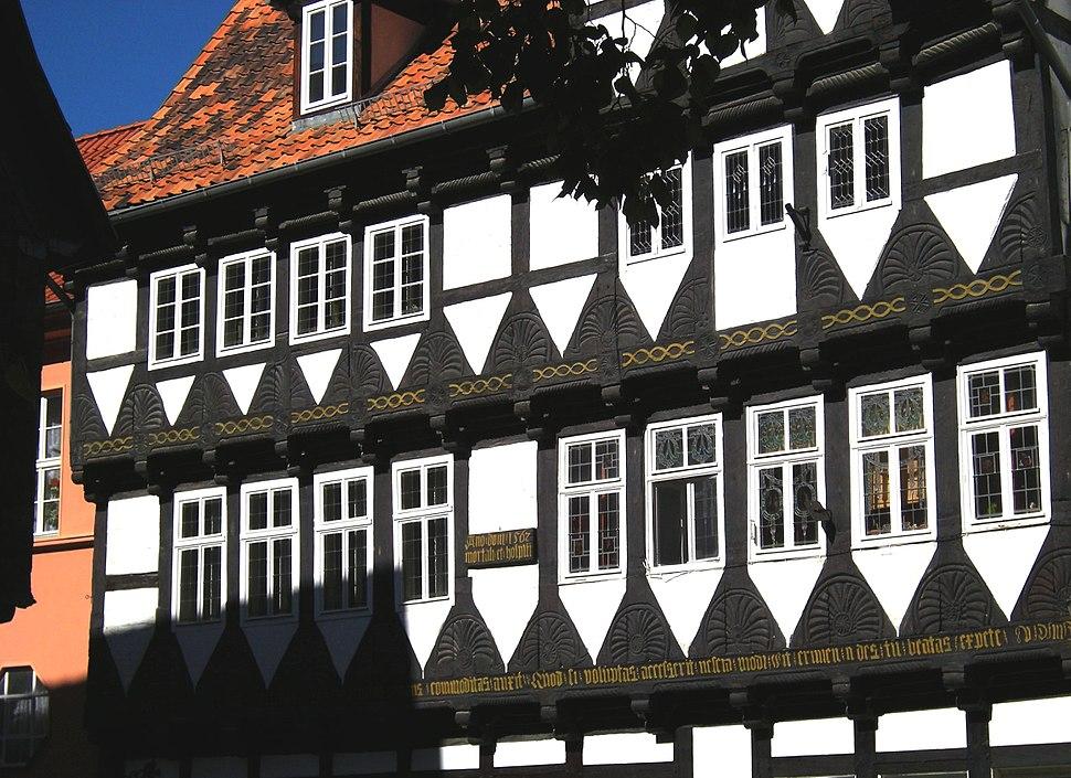 Quedlinburg - Fachwerkhäuser am Marktplatz 02