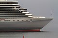 Queen Elizabeth in a very foggy Bar Harbour 2 (6179721486).jpg