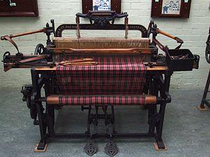 Geo. Hattersley - A Hattersley Domestic Loom